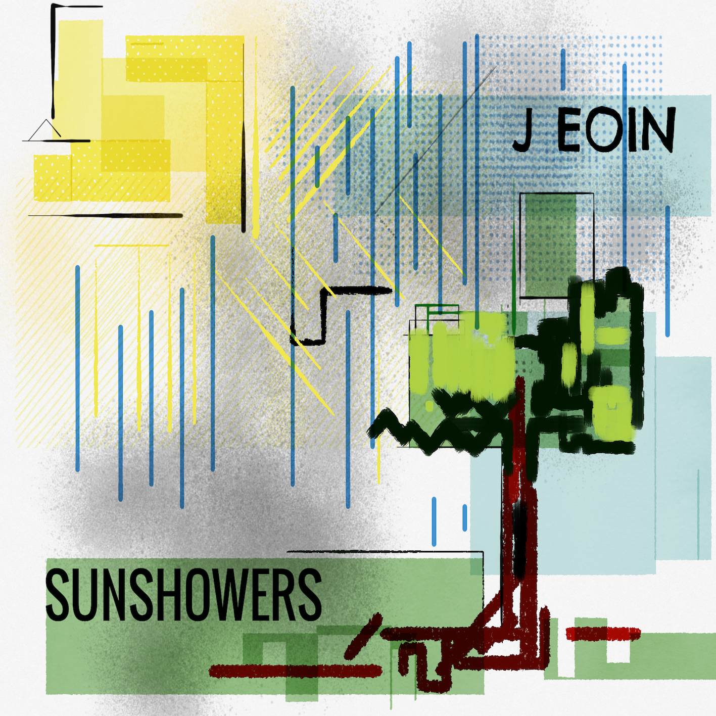 Sunshowers Cover Art by Simone Scafiti